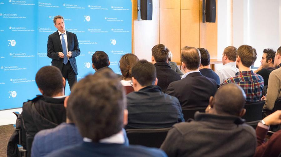 Central Banking Initiative @ SIPA