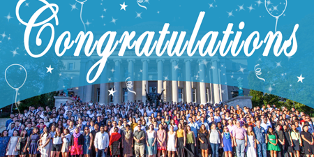 Columbia SIPA's 2020 Graduation features an online Kudoboard where graduates, alumni, family, and friends can share messages of congratulations and good wishes.