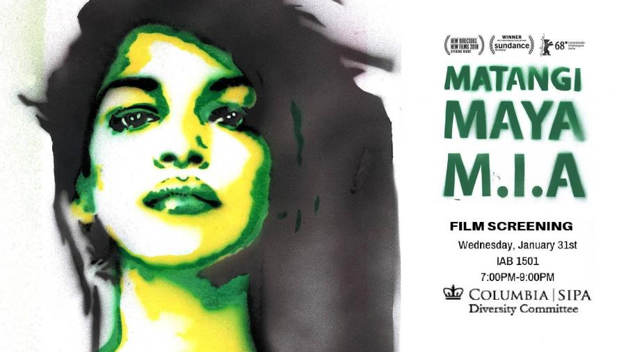 Matangi Maya Mia film screening