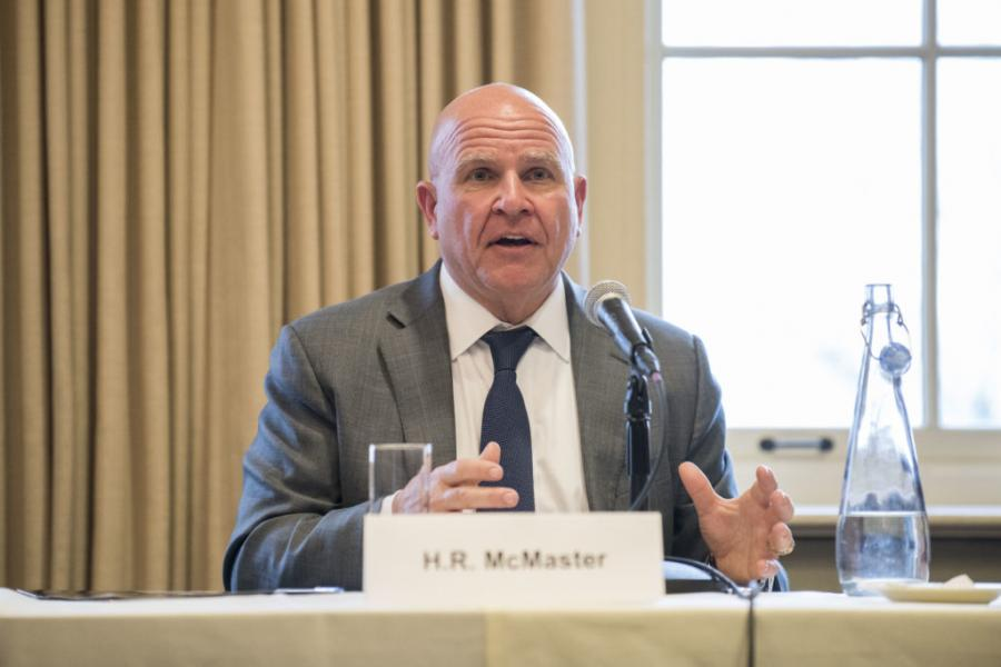 Former national security adviser H.R. McMaster