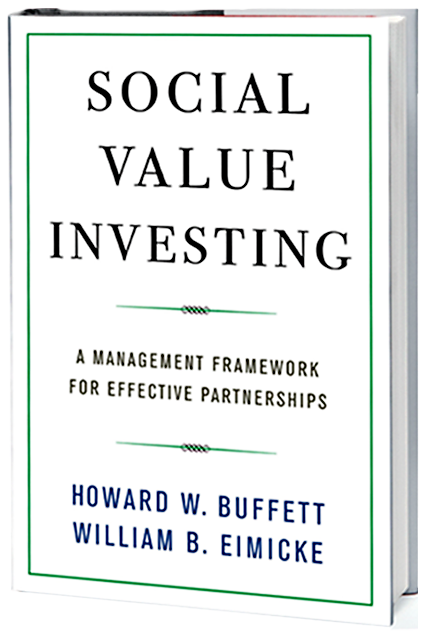 Social Value Investing, by Buffett and Eimicke