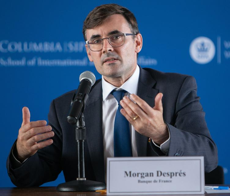 Deputy head of Banque de France's financial stability department Morgan Després