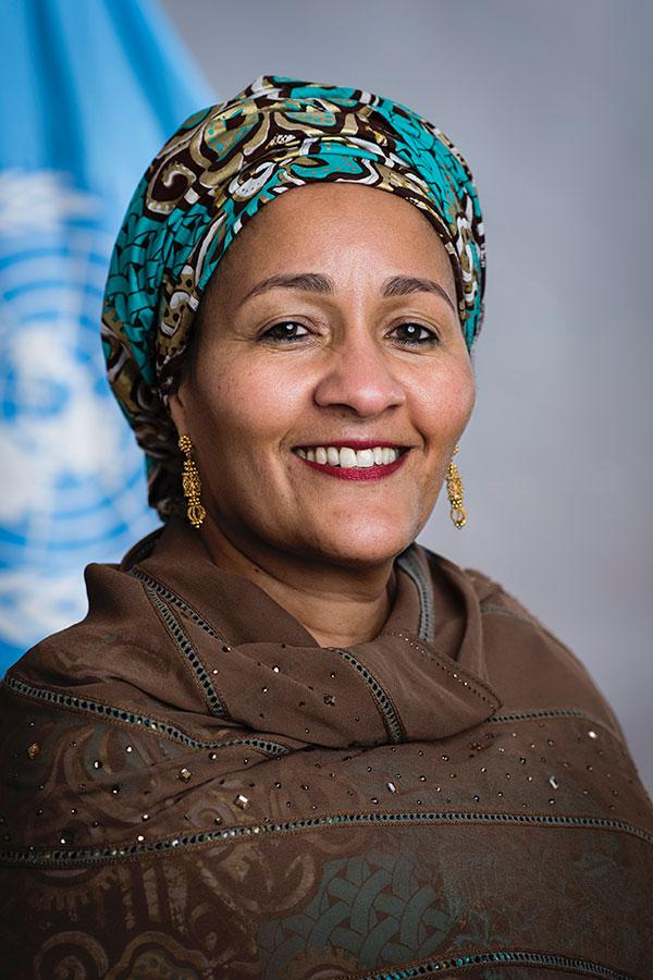 Amina J. Mohammed, deputy secretary-general of the United Nations