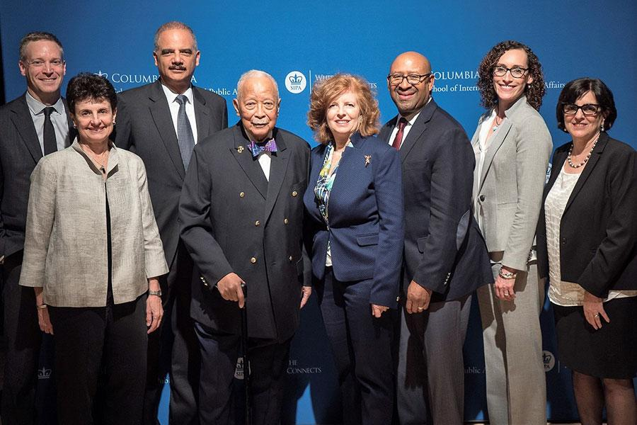The 21st David N. Dinkins Leadership and Public Policy Forum was held on April 26.