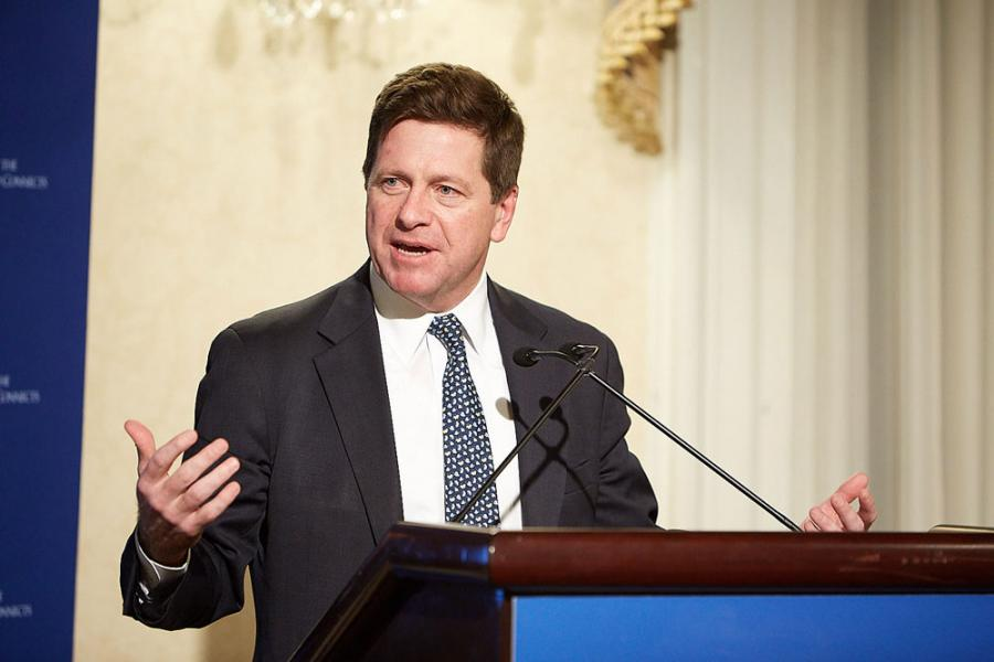 SEC Chairman Jay Clayton delivered the keynote speech at a SIPA-hosted panel discussion on cyber strategy for law and finance.
