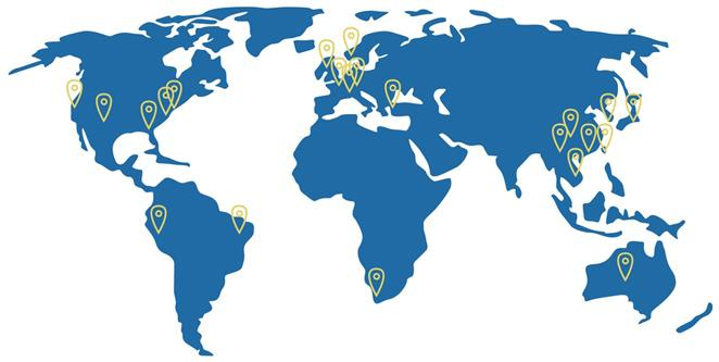 Loyal Donors Around the World