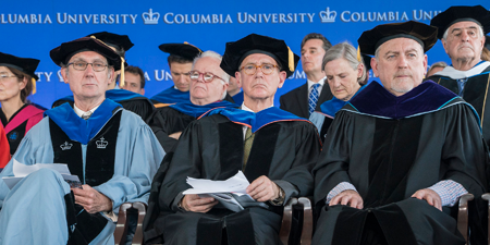 Vice Dean Scott Barrett, SIPA program directors, and other faculty will speak at Columbia SIPA's virtual graduation ceremony on May 17, 2020.