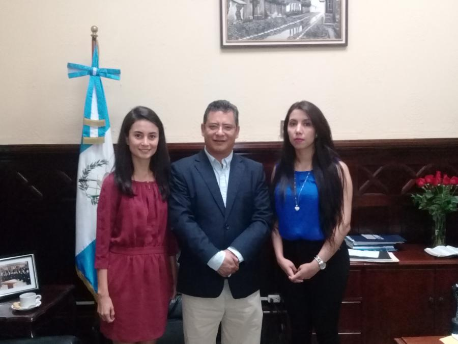 Meeting with the Health Commission, Congress of Guatemala