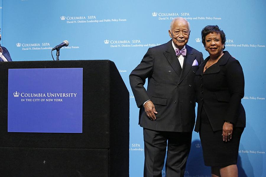 David N. Dinkins and The Honorable Loretta E. Lynch