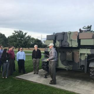 A historian at U.S. Army War College discusses the M109 self-propelled Howitzer.