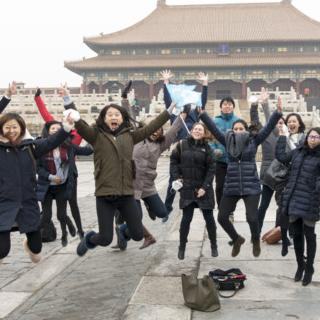 In Winter 2017, SIPA students visiting Beijing among other cities in China. Photo by Natasha Ardiani MPA'17