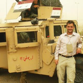 James Stephenson in Iraq