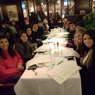 MPA-EPM Annual Washington D.C. Trip 2018_Old Ebbitt Grill D.C.